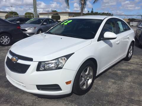 2012 Chevrolet Cruze for sale in Lake Worth, FL