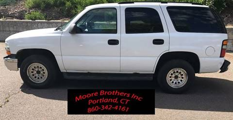 2004 Chevrolet Tahoe for sale in Portland, CT