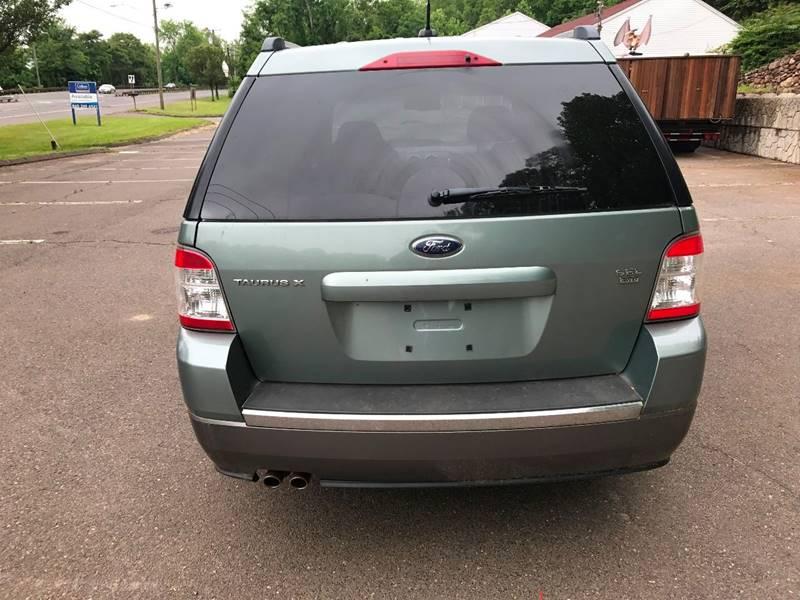 2008 Ford Taurus X AWD SEL 4dr Wagon In Portland CT  Moore