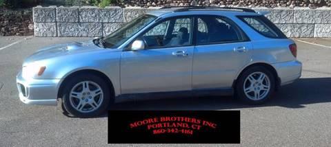 2002 Subaru Impreza for sale in Portland, CT