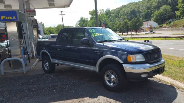 2003 Ford F-150 for sale at Moore Brothers Inc in Portland CT