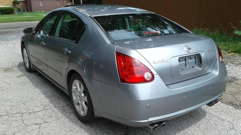 2007 Nissan Maxima 3.5 SL 4dr Sedan - Massillon OH