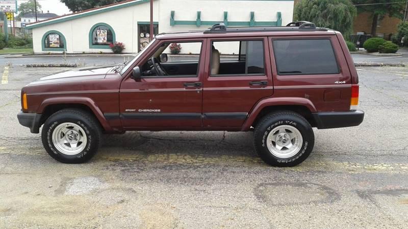 2001 Jeep Cherokee Sport 4WD 4dr SUV - Massillon OH