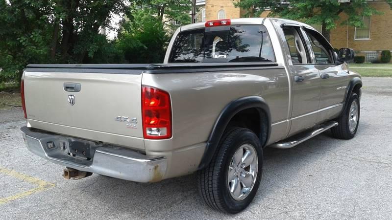 2005 Dodge Ram Pickup 1500 4dr Quad Cab SLT 4WD SB - Massillon OH