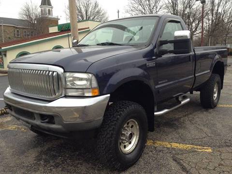 2002 Ford F-250 Super Duty for sale in Massillon, OH