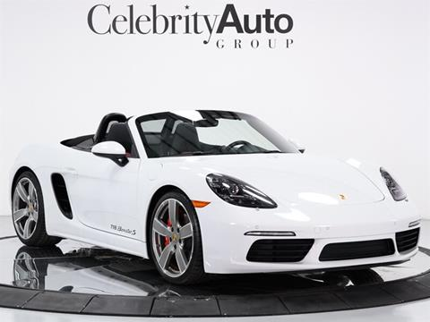 2018 Porsche 718 Boxster for sale in Sarasota, FL