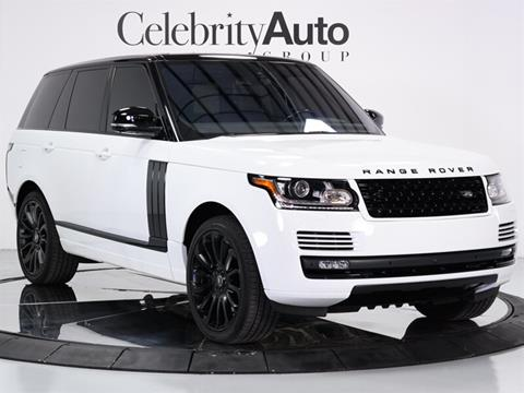 2016 Land Rover Range Rover for sale in Sarasota, FL