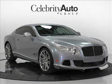 2014 Bentley Continental GT Speed for sale in Sarasota, FL