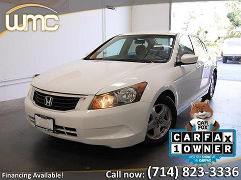 2009 Honda Accord for sale in Westminster, CA