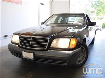 1995 Mercedes-Benz S-Class for sale in Westminster, CA
