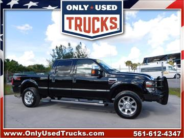 2009 Ford F-250 Super Duty for sale in West Palm Beach, FL