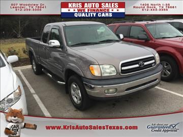 2002 Toyota Tundra for sale in Leander, TX
