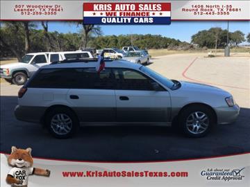 2002 Subaru Outback for sale in Leander, TX