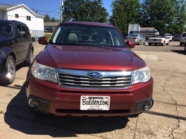 2010 Subaru Forester AWD 2.5X Limited 4dr Wagon 4A - Zanesville OH