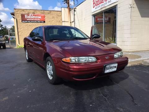 2000 Oldsmobile Alero for sale in Zanesville, OH