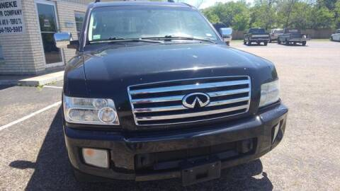 2007 Infiniti QX56 for sale at Reineke Motor Company in Temple TX