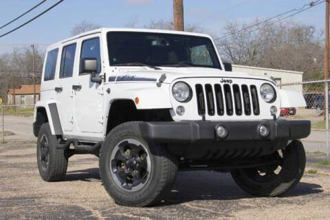 2014 Jeep Wrangler Unlimited Polar Edition for sale at Reineke Motor Company in Temple TX