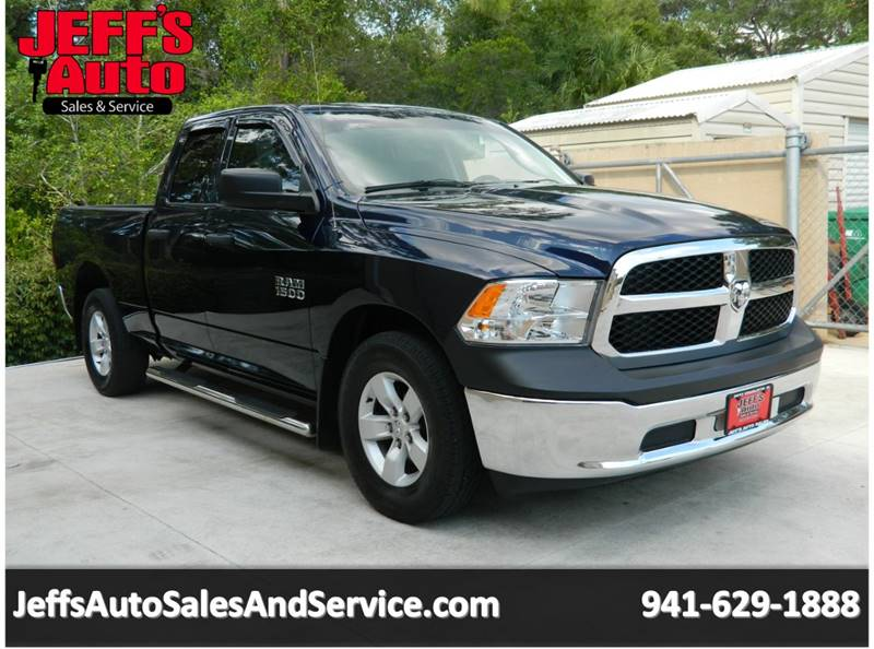 2013 RAM Ram Pickup 1500 for sale at Jeff's Auto Sales & Service in Port Charlotte FL
