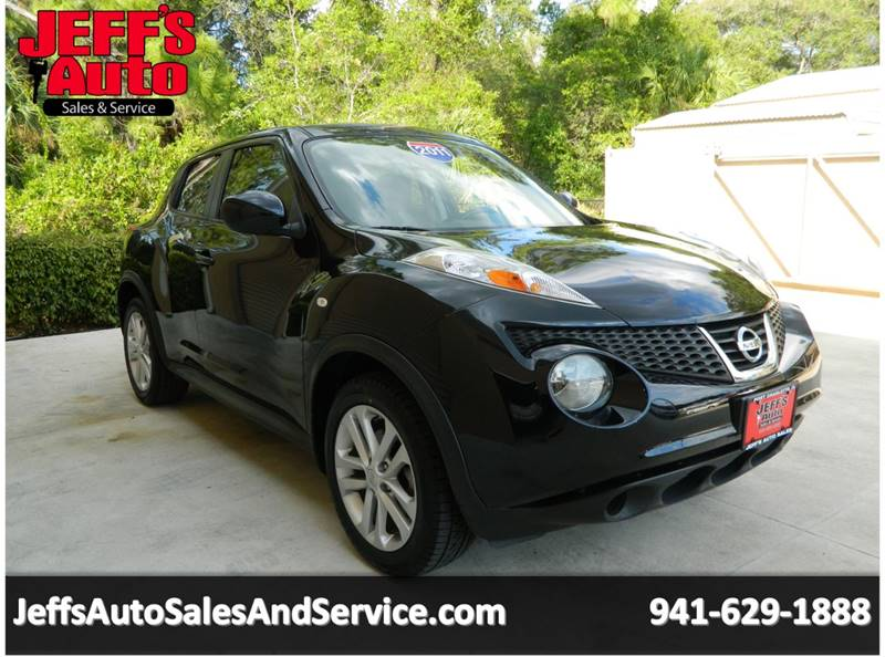 2011 Nissan JUKE for sale at Jeff's Auto Sales & Service in Port Charlotte FL