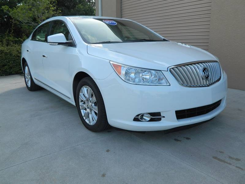 2012 Buick LaCrosse for sale at Jeff's Auto Sales & Service in Port Charlotte FL