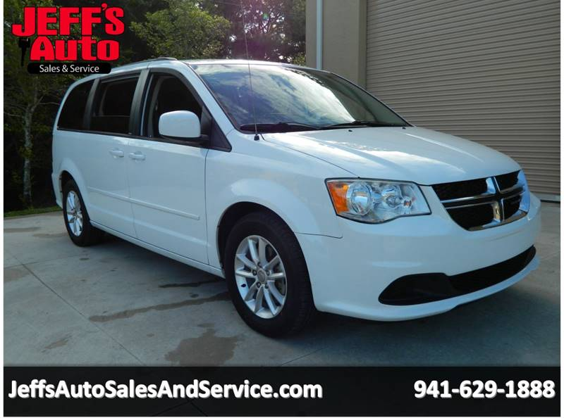 2014 Dodge Grand Caravan for sale at Jeff's Auto Sales & Service in Port Charlotte FL