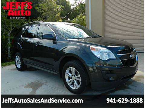 2012 Chevrolet Equinox for sale at Jeff's Auto Sales & Service in Port Charlotte FL
