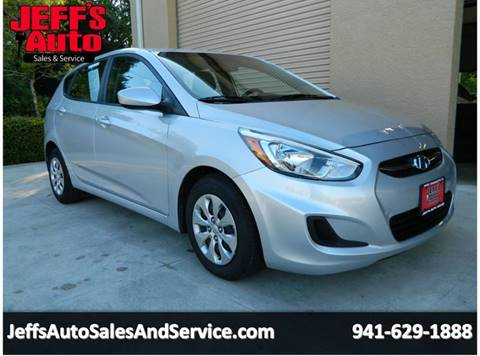 2015 Hyundai Accent for sale at Jeff's Auto Sales & Service in Port Charlotte FL
