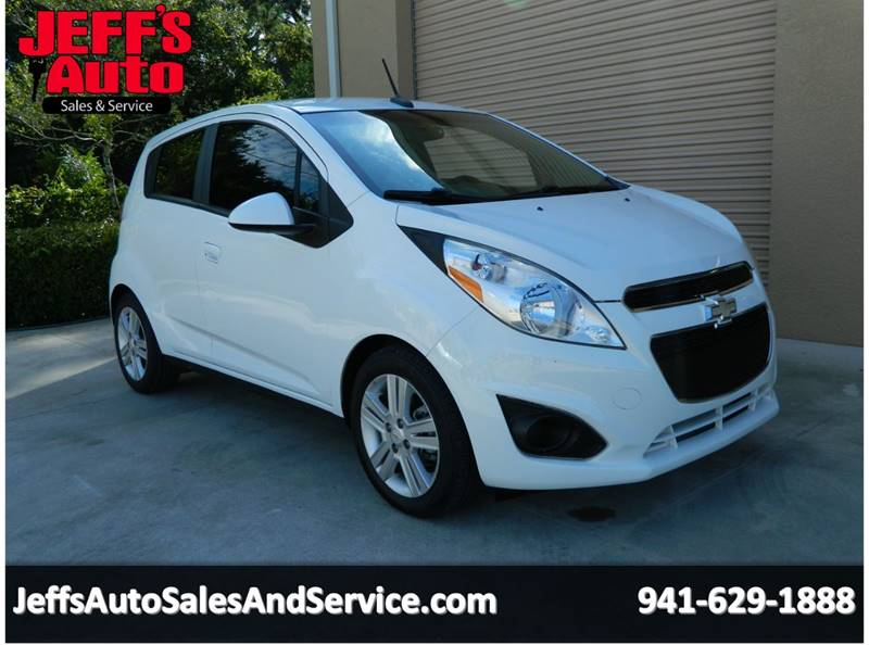 2014 Chevrolet Spark for sale at Jeff's Auto Sales & Service in Port Charlotte FL