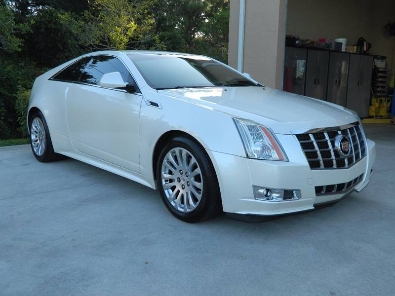 2012 Cadillac CTS for sale at Jeff's Auto Sales & Service in Port Charlotte FL