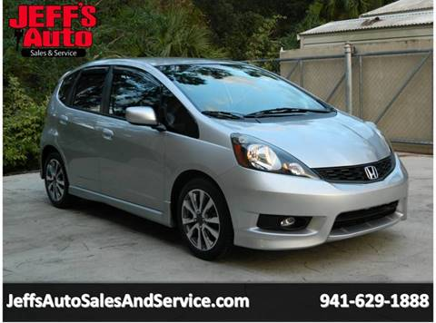 2013 Honda Fit For Sale At Jeffu0027s Auto Sales U0026 Service In Port Charlotte FL