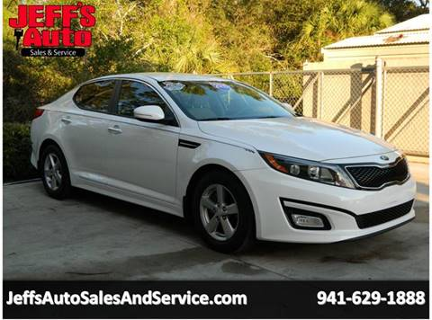 2015 Kia Optima For Sale At Jeffu0027s Auto Sales U0026 Service In Port Charlotte FL