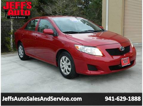 2009 Toyota Corolla For Sale At Jeffu0027s Auto Sales U0026 Service In Port  Charlotte FL
