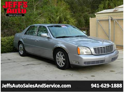 2004 Cadillac DeVille For Sale At Jeffu0027s Auto Sales U0026 Service In Port  Charlotte FL