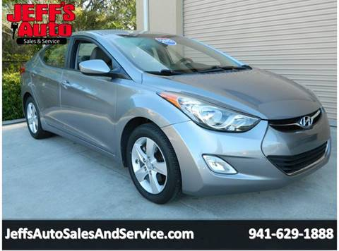 2012 Hyundai Elantra For Sale At Jeffu0027s Auto Sales U0026 Service In Port  Charlotte FL