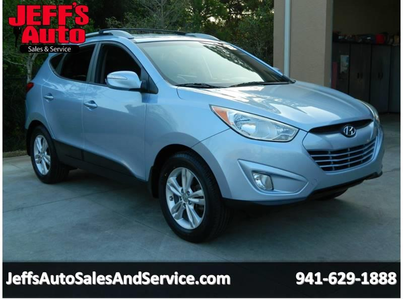 2013 Hyundai Tucson For Sale At Jeffu0027s Auto Sales U0026 Service In Port  Charlotte FL