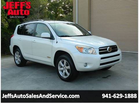 2007 Toyota RAV4 for sale at Jeff's Auto Sales & Service in Port Charlotte FL