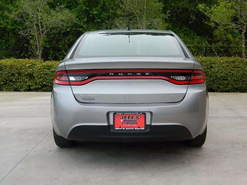 2015 Dodge Dart for sale at Jeff's Auto Sales & Service in Port Charlotte FL