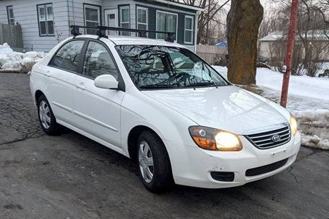 2009 Kia Spectra LX for sale at Budget City Auto Sales LLC in Racine WI