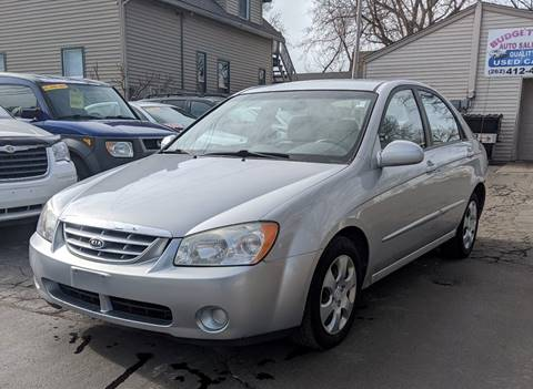 2006 Kia Spectra EX for sale at Budget City Auto Sales LLC in Racine WI