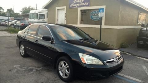 2007 Honda Accord for sale in Fort Lauderdale FL