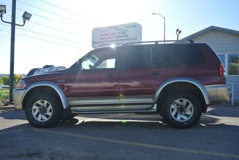 2001 Mitsubishi Montero Sport for sale in Rapid City, SD