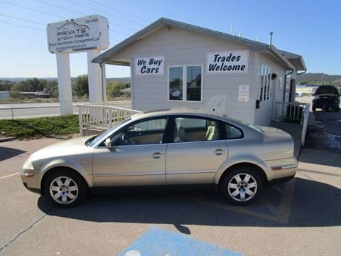2001 Volkswagen Passat for sale in Rapid City, SD