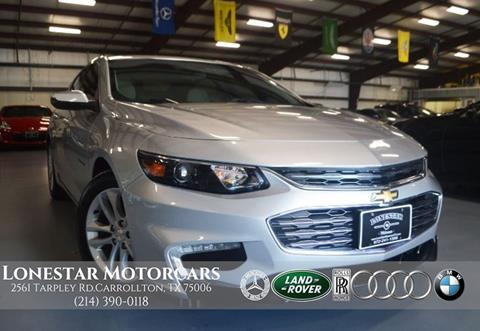 2016 Chevrolet Malibu for sale in Carrollton, TX