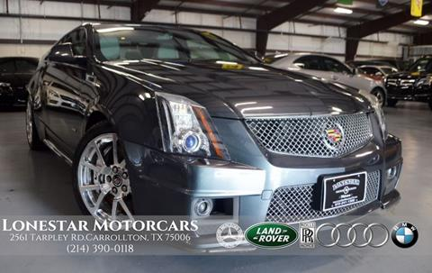 2012 Cadillac CTS-V for sale in Carrollton, TX
