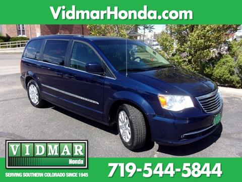 Minivan For Sale >> 2016 Chrysler Town And Country For Sale In Pueblo Co