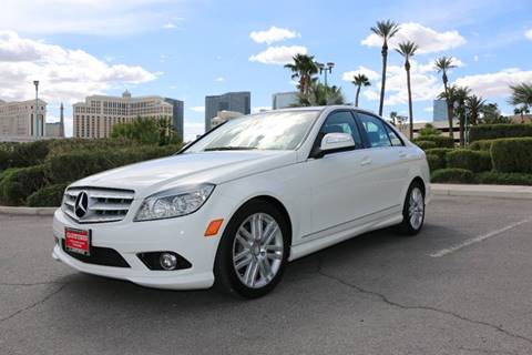 2008 Mercedes-Benz C-Class for sale at The Auto Center in Las Vegas NV