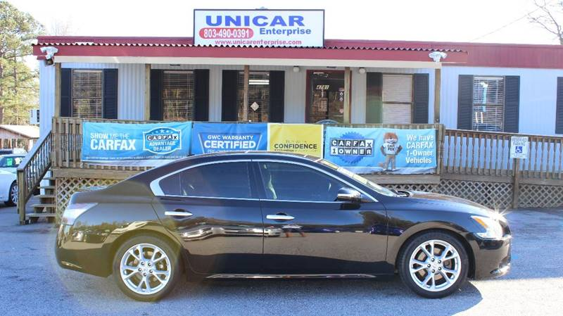 2012 NISSAN MAXIMA 35 SV black sharp and classy 2012 black nissan maxima has all the bells and w