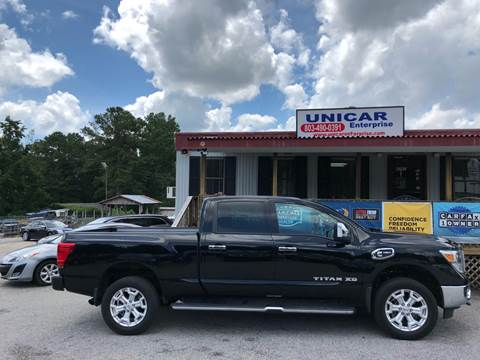 2016 Nissan Titan XD for sale at Unicar Enterprise in Lexington SC