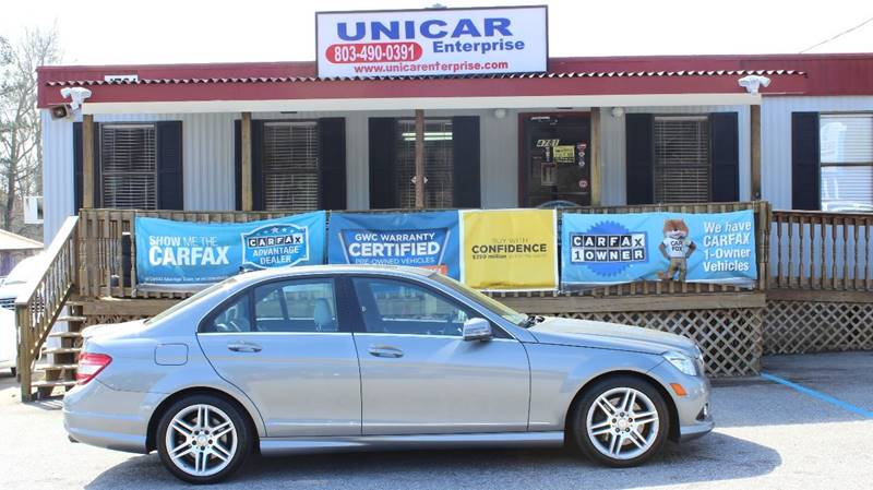 2010 MERCEDES-BENZ C-CLASS C350 SPORT 4DR SEDAN pewter very clean 2010 mercedes-benz c 350 with g