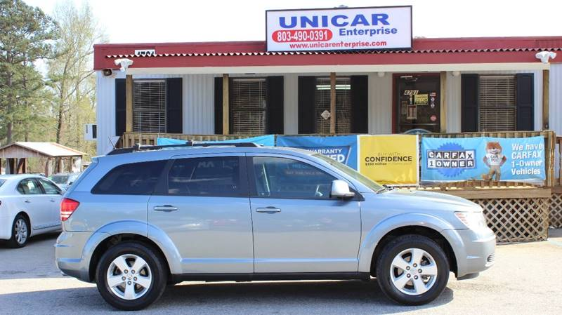 2010 DODGE JOURNEY SXT 4DR SUV blue clean 2010 light blue dodge journey with black cloth interior